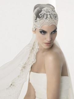 pirate wedding veil