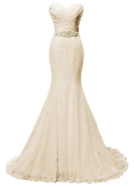 solovedress lace wedding gown