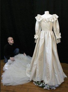auction site wedding dress