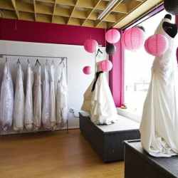consignment shop wedding dress