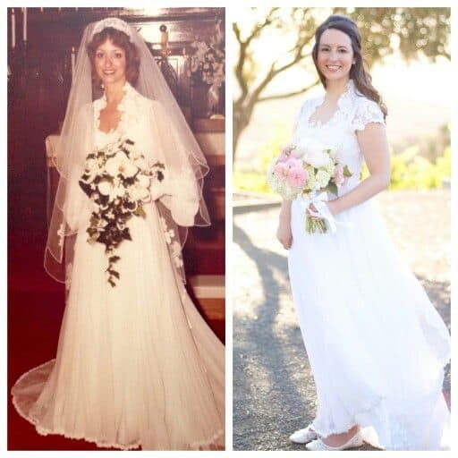 Old Wedding Dresses: 7 Ways To Redesign A Vintage Wedding Gown