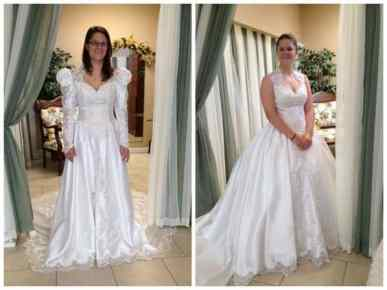 vintage wedding dress alterations