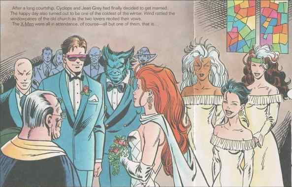 scott and jean wedding x-men