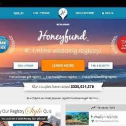 honeyfund webpage