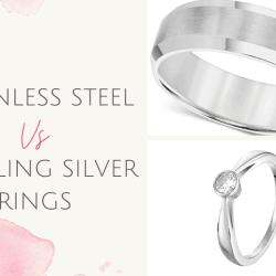 Stainless Steel vs Sterling Silver Rings