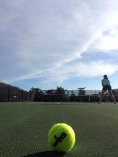 Tennis at the RV Park