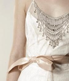 lazo vestido novia