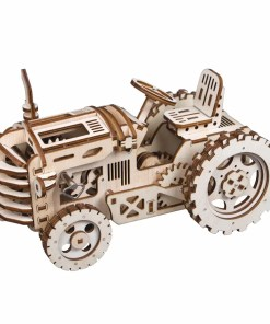 Wooden Tractor Model Building for Children