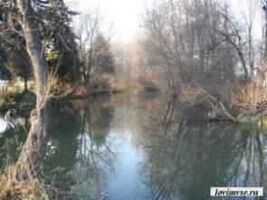 Плотвичная река осенью