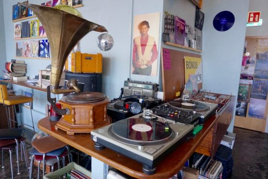 Inside Kaffi Vinyl
