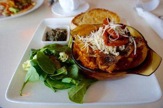 Iceland Vegan Food: Vegan Lasagna