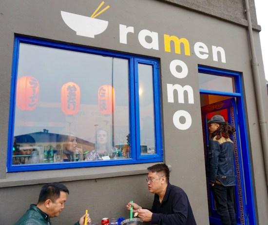 Front of Ramen Momo