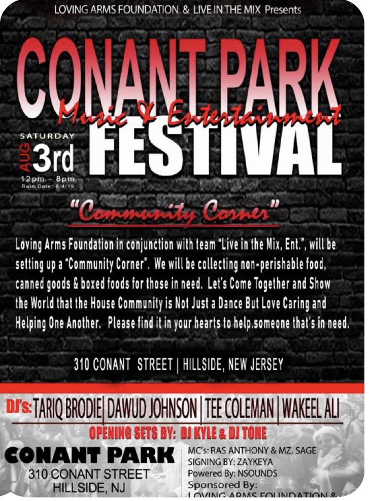 Conant Park Festival Flyer