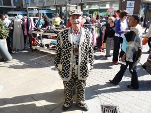 Pearly king Arthur