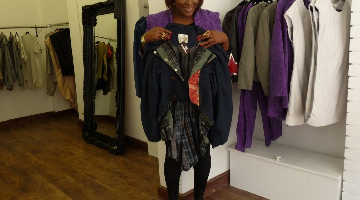 Marsha Scott, co-owner, Saint Best store, Bradbury Street Dalston Lon E8 13 Apr 2012
