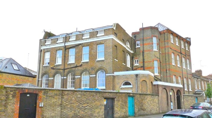 Former convent at 100 Hassett Road, Homerton, Lon E9 5SJ, 2012