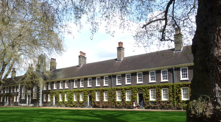The Geffrye Museum in Haggerston, Hackney, Lon, built in 1714 as an almshouse for poor people in bad health