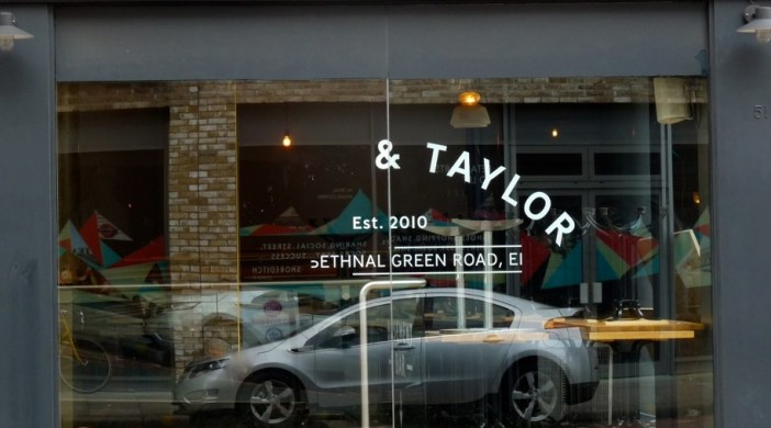 Ex-Mason and Taylor, Bethnal Green Rd, Shoreditch, in renovation to become Brewdog, Sep 2012