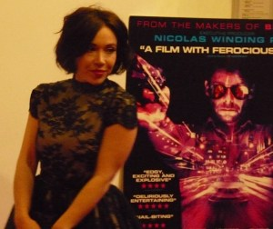 Daisy Lewis @ Hackney Picturehouse for launch of 12012 film Pusher © David Altheer