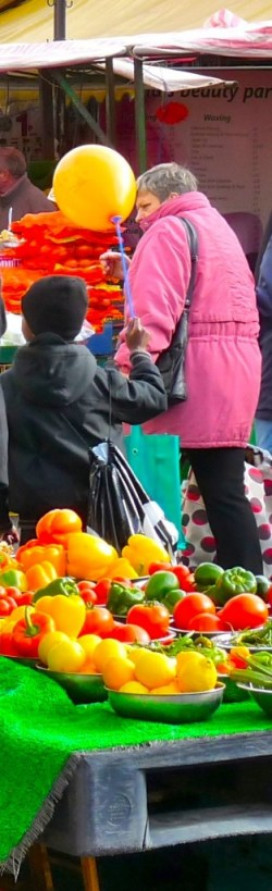Ridley Road market Feb 2012