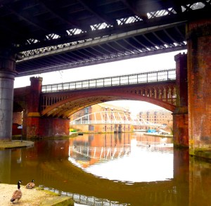 Canals in the heart of Manchester Feb 2010 © david.altheer@gmail.com