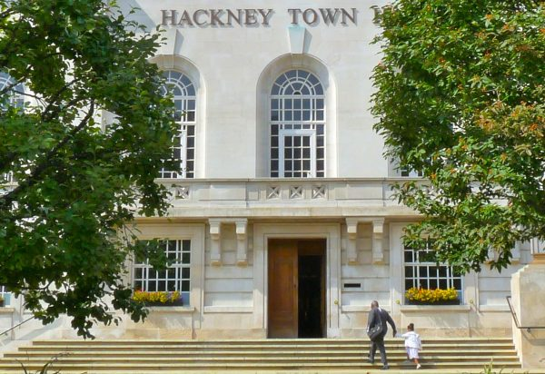 Hackney Town Hall © david.altheer@gmail.com