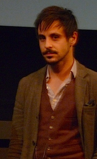 Emun Elliott TV and cinema actor living in Hackney @ London Film Festival for screening of BBCFilms' Strawberry Fields 181011 © david.altheer@gmail.co