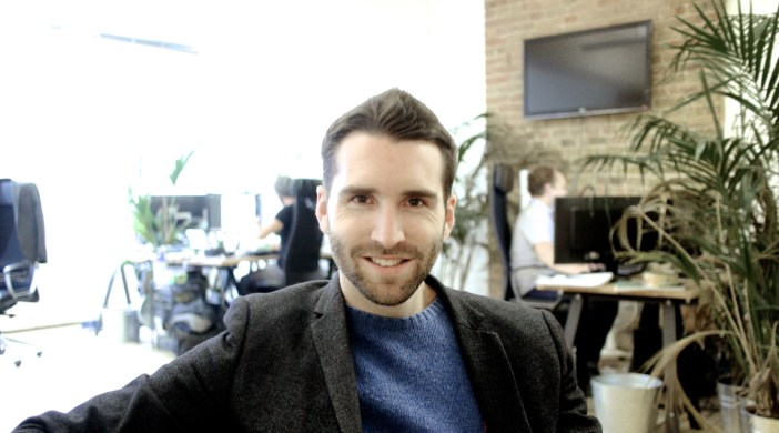 Pic © Thread: Kieran O'Neill, of Thread, Shoreditch online fashion business, London EC2A 4QS