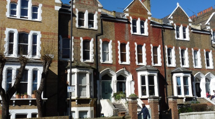 Actor Stephen Fry's ex house in Dalston Hackney E8 © david.altheer@gmail.com