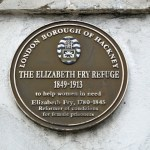 A plaque posted by Hackney council © david.altheer@gmail.com