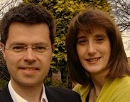 James  Brokenshire (Cons, Old Bexley and Sidcup) Immigration Minister , and wife Cathy (supplied pic)