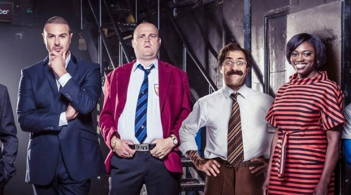 Al Murray, Paddy McGuinness, Simon Brodkin (aka Lee Nelson) and Andi Osho. Supplied pic