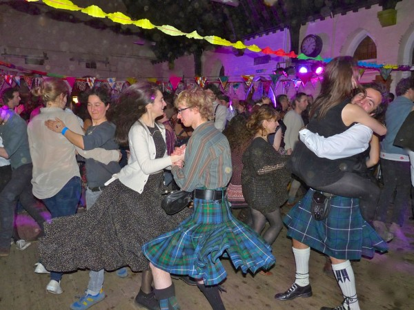 Burnssupper: St Mark's Dalston Lon E8 26 Jan 2013 Ceilidh Liberation Front 270113 © david.altheer@gmail.com