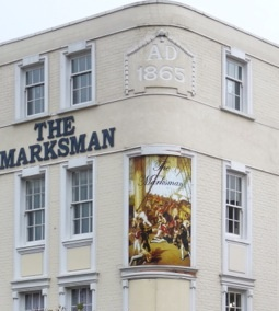 Marksman 254 Hackney Road E2 7SJ © David Altheer