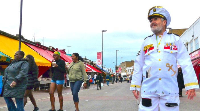Admiral Karl ready to set sail in Hackney One Carnival 150913 © david.altheer@gmail.com