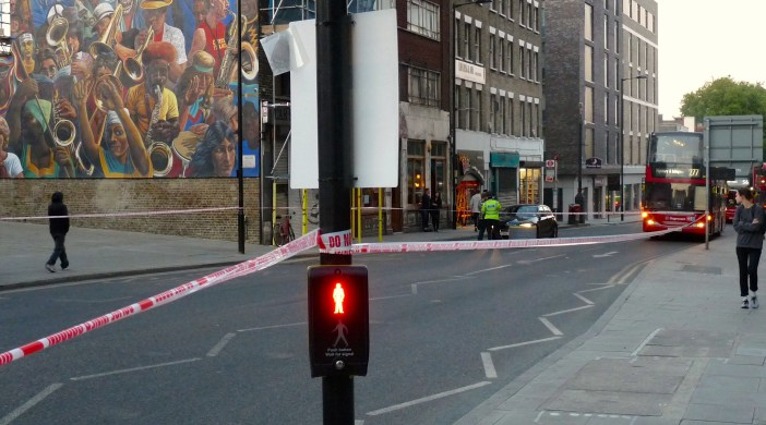 Dalston: a young womanwas injured at ped. crossing Dalston Ln Hackney E8 230515