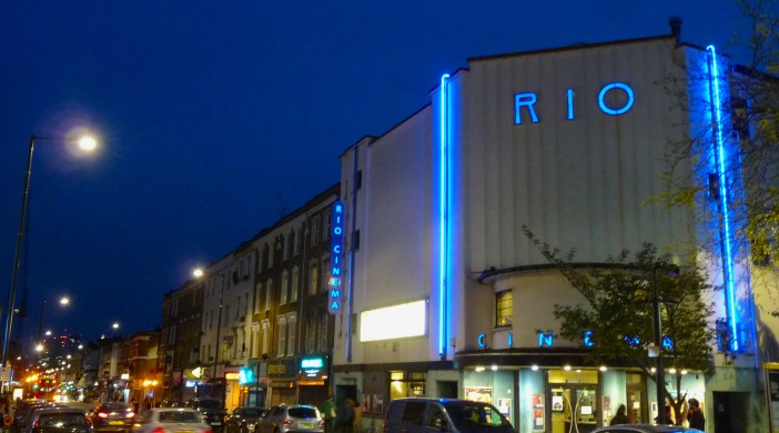 Rio Cinema Kingsland High Dalston Hackney London 150116 © DA