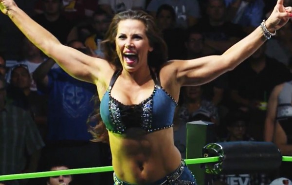 Native American and a big draw: Mickie James is from the Mattaponi tribe