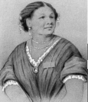 Role models: Seacole, above, and Sylvestre