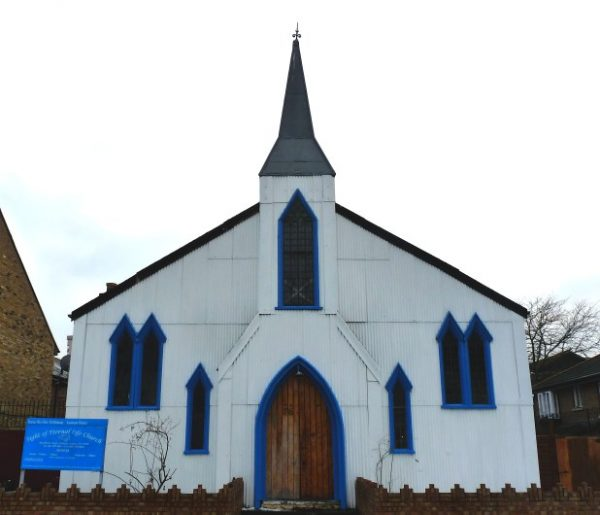 Let us pray that the tin tabernacle is restored after it finally sells
