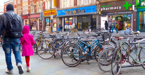Bikeracks: Kingsland High Street Dalston London E8 290414 © david.altheer@gmail.com