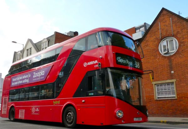 Thomas Heatherwick-designed hop-on, hop-off Routemaster-successor bus Feb 2012 © david.altheer[ at ] gmail.com