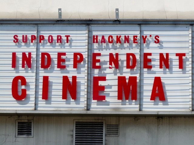 Rio Cinema sign seeking, rather than advertising to, customers 170816 © David Altheer