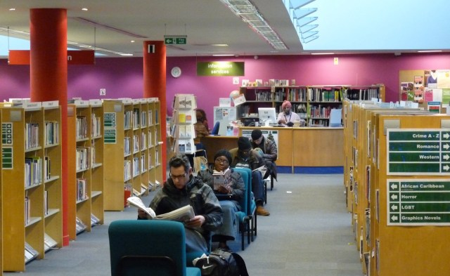Library12: Hackney Central Library Mare St Lon E8 © david.altheer@gmail.com