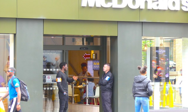 mcD0717secure: lostboys0717 McDonald's Kingsland Hi St Dalston Ln #Hackney 200717  © david,altheer@gmail,com