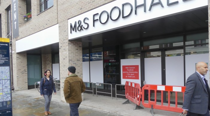 Marks©DA0418: Marks and Spencer Foodhall 5 Kingsland Hi St opening 0418 © david,altheer@gmial,com 030418