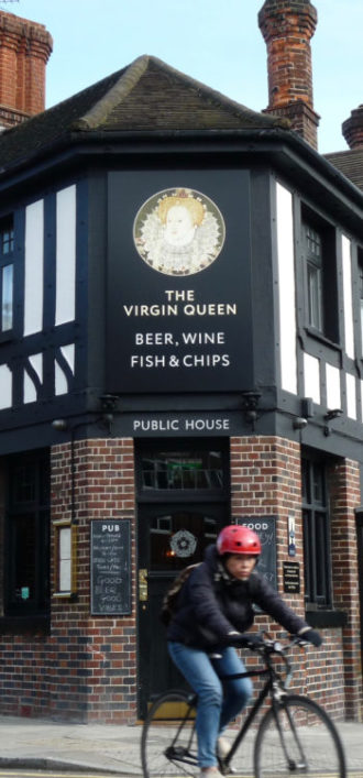 VirginQueen©DA19: Remarkable Pubs-owned Virgin Queen ©david.altheer@gmail.com 050318