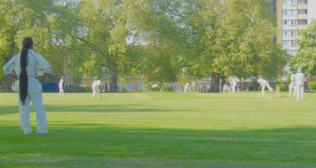 LonFields©DA14Crick:© David.Altheer@gmail.com London Fields CC v Sovereign (fielding) 030514