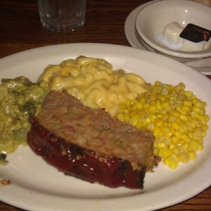Cracker Barrel Meatloaf Dinner