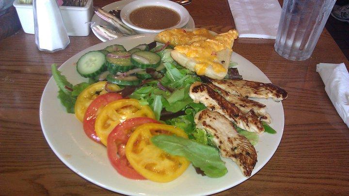 Cracker Barrel Grilled Chicken n' Summertime Vegetable Salad